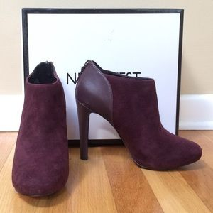 Nine West Ankle Bootie, like new!